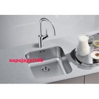 Kitchen Sink / Bak Cuci Piring Sink Blanco Supra 450-U Stainless Steel