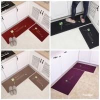 Door Mat Trendy SET / Keset Rumah Dapur Kamar Anti Selip