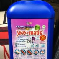 Yuri Matic Detergent untuk Mesin Cuci 3,7kg Aroma Lavender