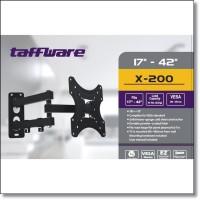 Taffware Telescopic TV Bracket 2.5m 200 x 200 Pitch for 17-42 Inch TV