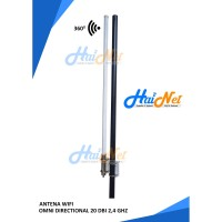 Antena penguat sinyal wifi omni directional 20 dBi 2,4 Ghz hainet