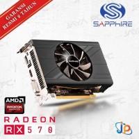 TERLENGKAP VGA Sapphire Pulse Radeon RX 570 4GB - RX 570 ITX 4 GB DDR5