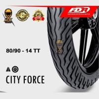 Ban luar motor matic 80/90-14 FDR CITY FORCE tube type