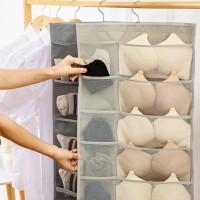 Organiz Foldable Hanging er Underware Bra Socks Multi Pockets Bag