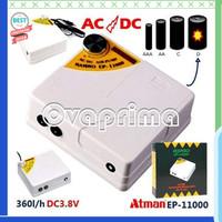 Unik Atman EP-11000 Pompa AC/DC Portable Air Pump Limited