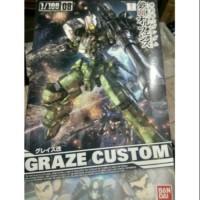 Gundam HG TV 1/100 IBO Graze Custom 1:100 Scale Gunpla Bandai Murah