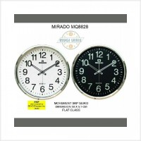 Barang Baru Jam Dinding MIRADO MQ-8828 Diameter 50cm