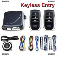 Alarm System NEWBABY Car PKE Keyless Entry Engine Start Stop Auto
