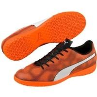 SEPATU FUTSAL PRIA PUMA 104799 01 RAPIDO IT black-orange-white