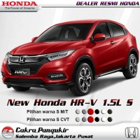New Honda HR-V 1.5L S I Booking Fee