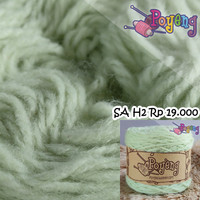 Benang Rajut Soft Akrilik Poyeng H2 (Pistachio Green)