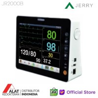 Pasien Monitor Jerry 2000B 8inch LCD Screen 6 Parameter