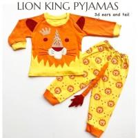LION KING PYJAMAS anak baju tidur anak perlengkapan babeebabyshop