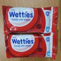 Tissue Basah Mitu Wet Wetties Merah