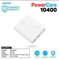 powerbank Angker powercore 10400 mAh original asli PB kualitas terbaik