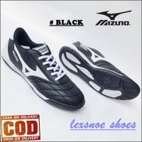 Promo Sepatu Futsal Mizuno Murah Bagus - Hitam, 38
