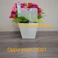 TEMPRED GLASS KACA OPPO YOYO/2001 ANTIGORES SCREEN PROTEKTOR LCD