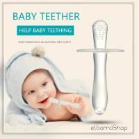 Mainan Teether Stick Silikon Food Grade Gigitan Silicone Bayi BPA FREE