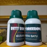 Vitamin Best Breeding 80gram vitamin untuk ternak burung Murai Batu