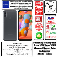 Samsung Galaxy A11 3GB/32GB A 11 3/32 GB 3/32GB White Black Resmi Sein