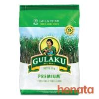 Gulaku Premium Gula Pasir 1kg (1 kg / 1 kilogram)