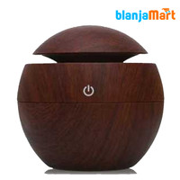 Humidifier 130ml Aroma Therapy Wood Desain