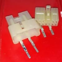 soket konektor HU 12 pin sepasang konektor HU audio toyota daihatsu