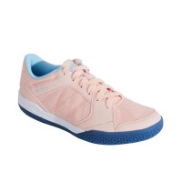 Perfly Sepatu Badminton Bs190 Pink Biru Decathlon - 8580412 - 36 Ori