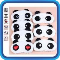 Raja - Penutup Mata Panda / Sleeping Eye Panda Lucu / Eye Cover Cute