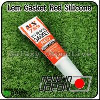 Lem Gasket - Silikone Red RTV - Made in Japan