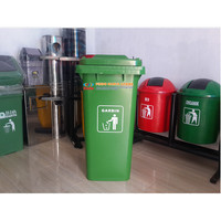 Tempat Sampah Dorong 120 Liter HDPE 008