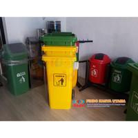 Tempat Sampah Dorong 120 Liter HDPE