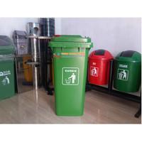 Tempat Sampah Dorong 120 Liter HDPE 002