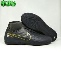 Sepatu Futsal Dewasa Nike Mercurial CR7 Boot Hitam List Gold Size 39