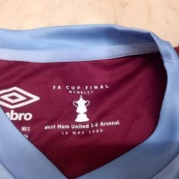 Terlaris ! Jersey Kaos Baju Bola Westham West Ham United Home Patch
