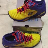 Terlaris ! hot sales - Sepatu Badminton Yonex SHB 03 Z Men Yellow/Blue