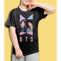Kaos/baju anak BTS -JIN- 001 (size anak 1 - 7 tahun)