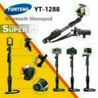 Tongsis Yunteng Bluetooth YT 1288 Panjang 125cm + Holder U