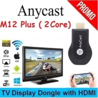 Dual Core Anycast M12 Plus Full HD Wifi Dongle Display TV Receiver