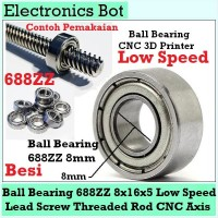 [EBS] Ball Bearing Bushing 688ZZ 8mm CNC 3D Printer Lead Screw Rod