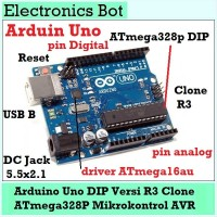 [EBS] Arduino Uno R3 DIP atmega16au atmega328p u tanpa Kabel