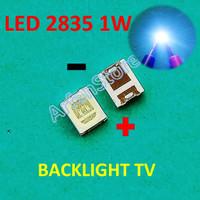 LED SMD 2835 3528 1W 3V Replace LG Backlight TV LCD Cold White Putih