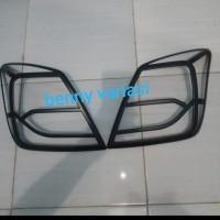 Garnis List Lampu Belakang Datsun GO black doff