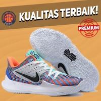 Sepatu Basket Sneakers Nike Kyrie Low 2 Multicolor White Orange Pria