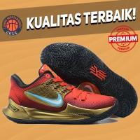 Sepatu Basket Sneakers Nike Kyrie 2 Low Ironman Iron Man PE Red Gold