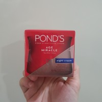 Ponds pond's age miracle youthful glow night cream 50g