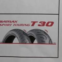 BAN LUAR BATTLAX SPORT TURING T 30 UKURAN 160 /60-17 TUBELESS