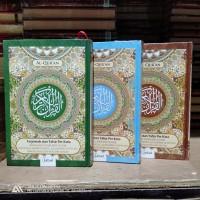 Al Qur'an jabal terjemah per kata tafsir asbabun Nuzul UK A4 hc