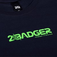 Badger Invaders SPACE OUT BASIC TSHIRT