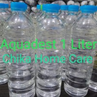 Aquades - Aquadest - Air Suling 1 liter (1000 ml)